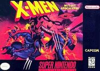 X-Men Mutant Apocalypse SNES cover