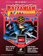 Bosconian arcade flyer