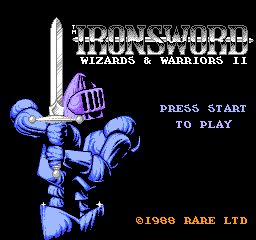Ironsword - Wizards & Warriors II (U)