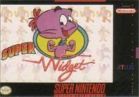 Super Widget SNES cover