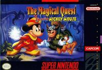 The Magical Quest Starring Mickey Mouse SNES cover