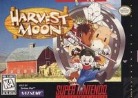 Harvest Moon SNES cover