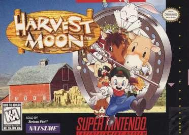 File:Harvest Moon SNES cover.jpg