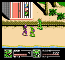 Teenage Mutant Ninja Turtles III - The Manhattan Project (U) 002