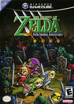 The Legend Of Zelda Four Swords Adventures GC cover