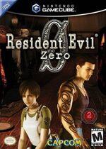 Resident Evil Zero GC cover