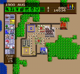 Sim City SNES screenshot