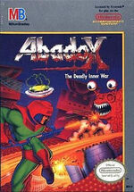 Abadox NES cover