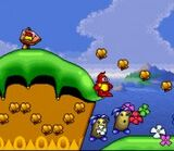 Plok SNES screenshot