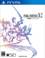 Final Fantasy X-2 HD Remaster PSVita cover