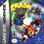 Crash Bandicoot 2 - N-Tranced Coverart