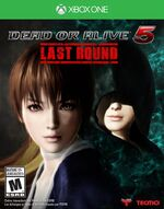 Dead or Alive 5 Last Round Xbox One cover