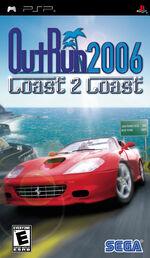 Outrun 2006 Coast 2 Coast PSP cover