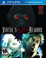 Zero Escape Virtues Last Reward PSVita cover