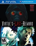 Zero Escape Virtues Last Reward PSVita cover