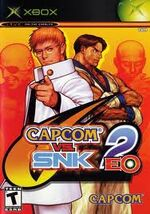 Capcom vs snk 2 xbox cover