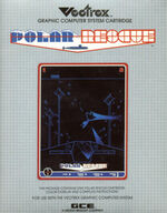 Polar Rescue Vectrex cover