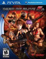 Dead or Alive 5 Plus PSVita cover