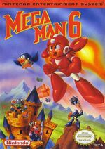 Mega Man 6 NES cover