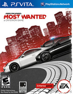 Need For Speed Most Wanted PSVita cover