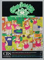 Cabbage Patch Kids Adventures in the Park Colecovision cover