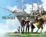 Final Fantasy III Ouya cover