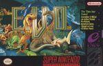 Evo Search For Eden SNES cover