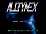Alltynex FMTowns title screen