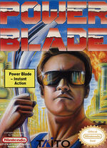 Power Blade NES cover