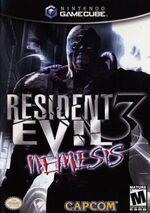 Resident Evil 3 Nemesis GC cover