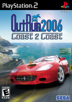 OutRun 2006 PS2 cover