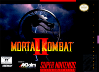 Mortal Kombat II SNES cover