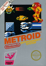 Metroid NES cover