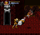 Battletoads In Battlemaniacs SNES screenshot