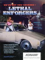 Lethal Enforcers flyer
