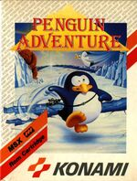 Penguin Adventure MSX cover