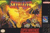 Skyblazer SNES cover
