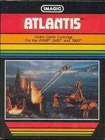 Atari 2600 Atlantis box art