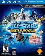 Playstation All-Stars Battle Royale PSVita cover