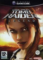 Tomb Raider Legend GC cover