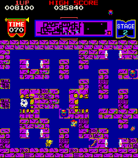 Tutankham arcade screenshot