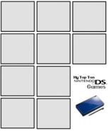 Top ten ds template