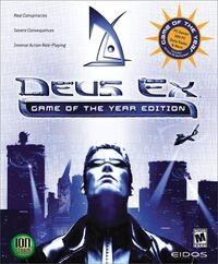 Deus Ex GOTY Edition cover