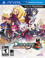 Disgaea 3 Absence of Detention PSVita cover