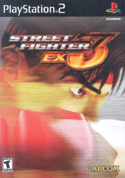 Street Fighter EX3 cover
