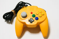 Hori n64 pad yellow 93818 zoom