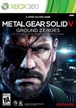 Metal Gear Solid V Ground Zeroes Xbox 360 cover