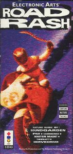 Road Rash 3DO cover