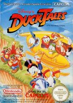 Duck Tales NES cover