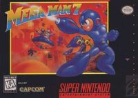 Mega Man 7 SNES cover